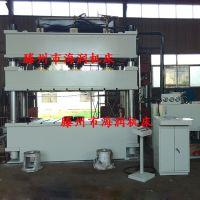 热销630吨SMC模压压力机 汽车配件成型液压机 树脂井盖化粪池油压机