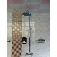 正荣浴室洗澡插IC卡水表-公共智能多卡一水表水控机/防水热水表