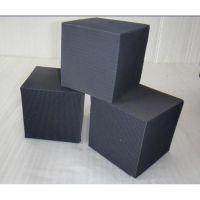 蜂窝式活性炭废气处理用防水蜂窝活性炭 除臭用耐水蜂窝状活性炭