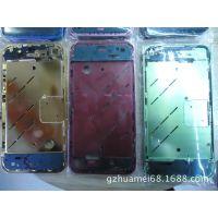 苹果手机4代内配件 Iphone4金属中板组装件(金黄色)