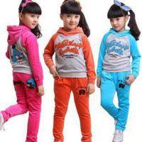 2012秋季新款 女中大童背带裤+打底衫休闲套装Z1.98中大童套装
