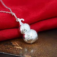 s990葫芦挂坠 纯银 可鉴定 宝宝满月礼品 微店陌陌货源一件代发