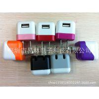 新款迷你USB充电器,色子格力芬活动绿点充,直销I4I5手机充电器