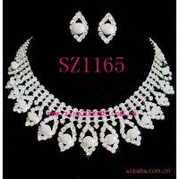饰品混批,新娘珍珠水钻套链 SZ1165