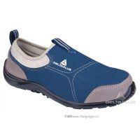 代尔塔 松紧系列灰色运动款防砸,防刺穿,防静电安全鞋