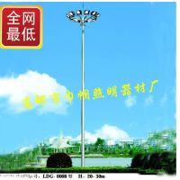 生产道路照明高杆灯道路照明器材高杆灯优质25米升降式高杆灯