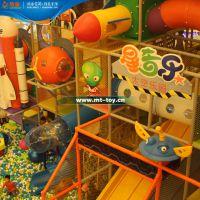 供应山西拓展器材儿童淘气堡设备 s滑梯太空主题免费设计订做 pvc材质【牧童】