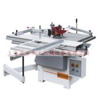 江苏推台锯铣机、推台锯立轴铣一体机、木工先锯后铣一体机、昆山木工机械厂家、