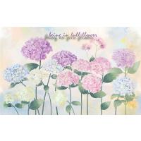 唯美温馨花朵创意婚房背景墙纸艺术美式田园壁纸客厅沙发电视背景墙大型壁画墙布