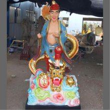 河南云峰佛像雕塑厂订做道教神像济公活佛 道济禅师 降龙活佛济公佛像现货批发