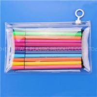 Frosted Plastic Pvc Zip It Zipper Bags For Stationery