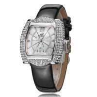 深圳时尚礼品手表厂家 生产女装不锈钢石英手表 防水表