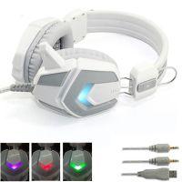 豪华四色炫光网吧耳机 发光耳机X2电脑游戏抗暴力耳麦  无包新品