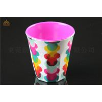 仿瓷胶杯定制批发/美耐皿杯子/自助烧烤店茶杯/寿司店杯子印刷