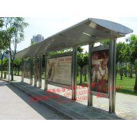 湖南公交候车亭是哪款呢?湘潭别致灯箱式公交站台详细方案