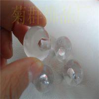 厂家直销 24MM亚克力半孔圆珠 透明塑胶圆珠 散珠饰品配件