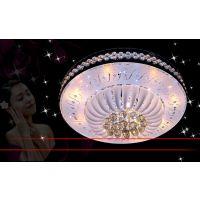 金色双层吊灯客厅卧室LED吸顶灯书房灯室内照明灯具8515