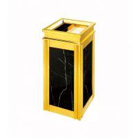 供应【批发现货】酒店大堂垃圾桶 菱角边座地烟灰桶南京 KTV烟灰垃圾桶