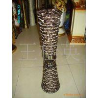 植物编织工艺品  铁艺花器 芒编制品 挂篮  陶瓷花器  花瓶  插花