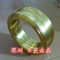 日菱厂家供应H62黄铜扁线 拉链扁线 插头扁线 规格齐全