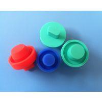 橡胶厂订做生产彩色胶套 硅胶管套 机械设备堵孔用硅胶帽