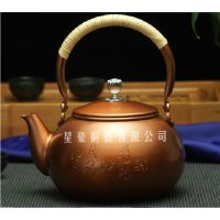 贵言诚 铜壶 铜水壶 紫铜纯手工 老北京铜壶