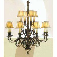 特别推荐欧式别墅精致客厅吊灯豪华水晶灯高档时尚美式铜灯