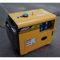 实力工厂直销 5kw小型静音式柴油发电机组