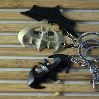 外贸热销 电影周边蝙蝠侠 钥匙扣挂件 合金饰品批发 速卖通热卖