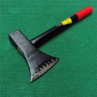 供应恒飞斧子 黑色钢管柄柴斧 锻打伐木斧