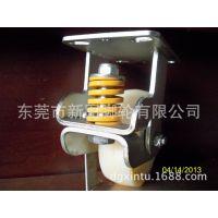 供应优质6寸纯尼龙脚轮,铁心防震轮/弹簧轮/避震活动轮