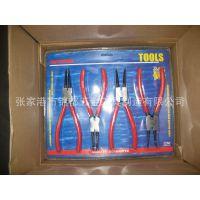 张家港锦都五金工厂直销PVC拉链皮包4件套挡圈钳