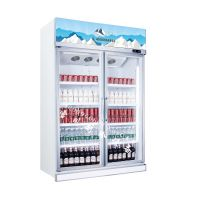 饮料柜啤酒柜单门双门展示柜 立式小冰柜冷藏柜 单门冷藏展示柜