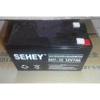 西力蓄电池SH7-12现货价格