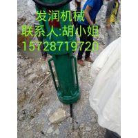 大块岩石开采设备液压采石设备大型劈裂机