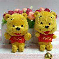 迪士尼可爱动漫公仔维尼熊玩具挂件来图定制