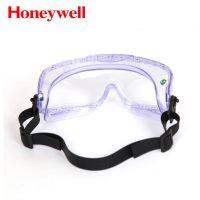 霍尼韦尔运动型防护眼罩 1007506防冲击护目镜 舒适防化学眼罩