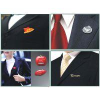 天津定制公司标志胸针 男士西装胸针标志