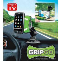 TV产品批发销售GripGo迷你导航车载手机支架 正品汽车手机支架