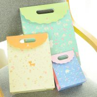 批发韩国文具小清新礼品袋手提纸袋 礼物袋现货可爱购物袋包装袋