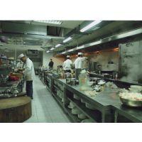 广州专业清洗酒店厨房设备抽油烟机清洗油烟罩与油烟管道