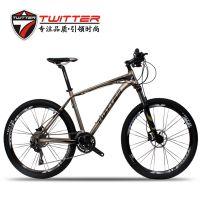 厂家山地车铝合金自行车27速SHIMANO变速山地自行车批发