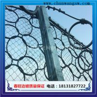 春旺供应SNS柔性防护网、被动防护网、安装快捷