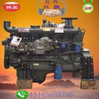 发电型1500转179马力 配小泵 潍坊柴油机厂R6105IZLD柴油发动机