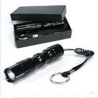 汽车用品 3W 5号一节迷你LED强光车用多功能手电 应急灯 防身