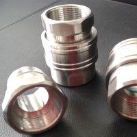 温州南鑫加工订做不锈钢304直通式1 1/2寸液压快速接头 DN40直通快速接头生产厂家