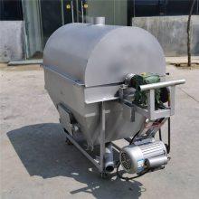 供应小型滚筒炒货机设备 瓜子电加热翻炒机 板栗多功能翻炒机