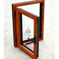 RL-70晶泳木纹断桥铝门窗(天津)70断桥铝门窗厂家