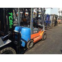 二手叉车价格、合力2吨3吨燃油、电动二手叉车热卖中