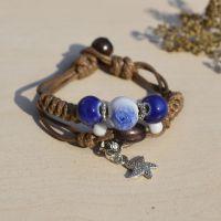 新款手链来自星星的你明星同款 陶瓷饰品手链女 厂家直销地摊货源